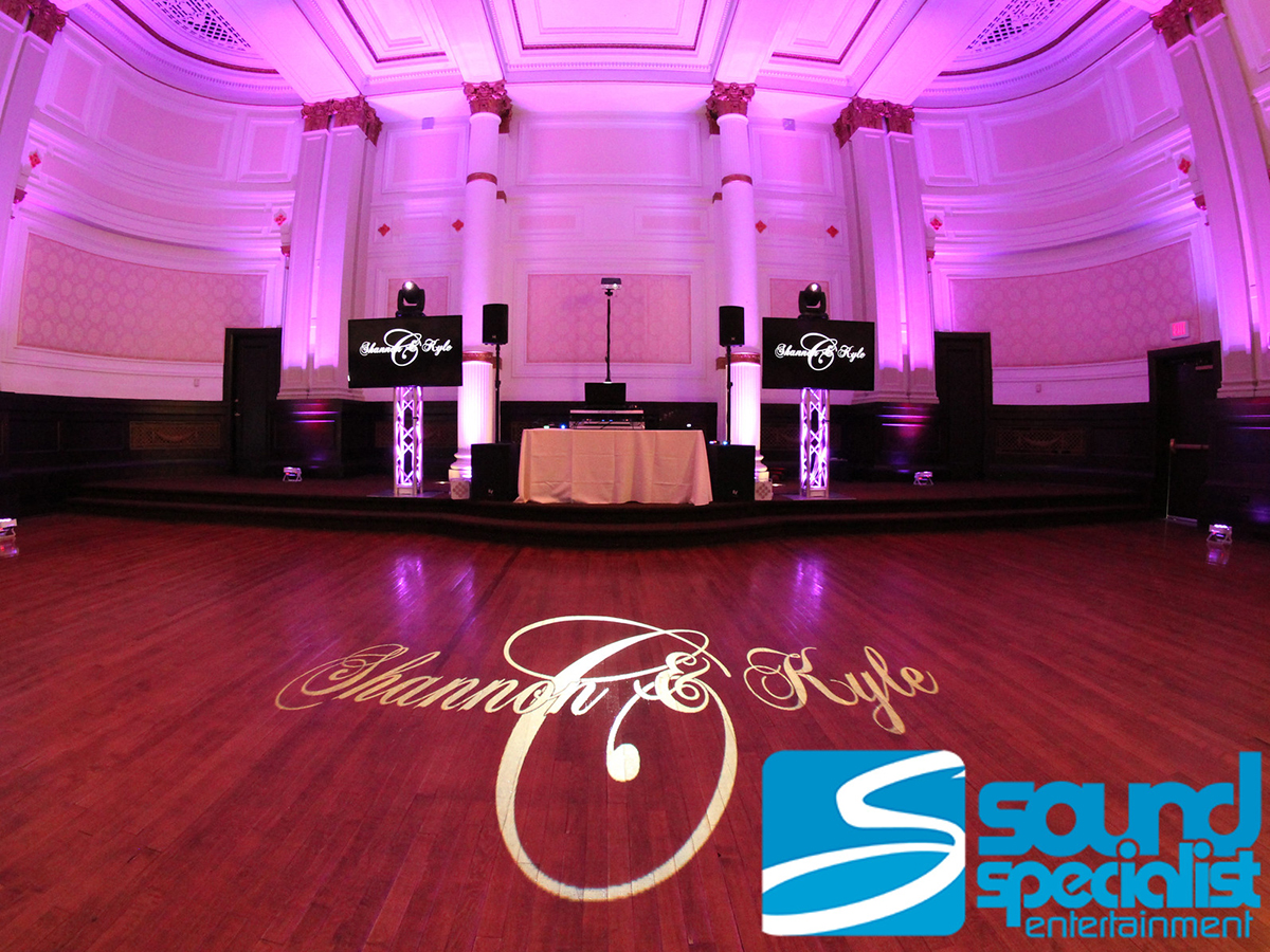 The Henry Clay Building Louisville Wedding Lighting Design